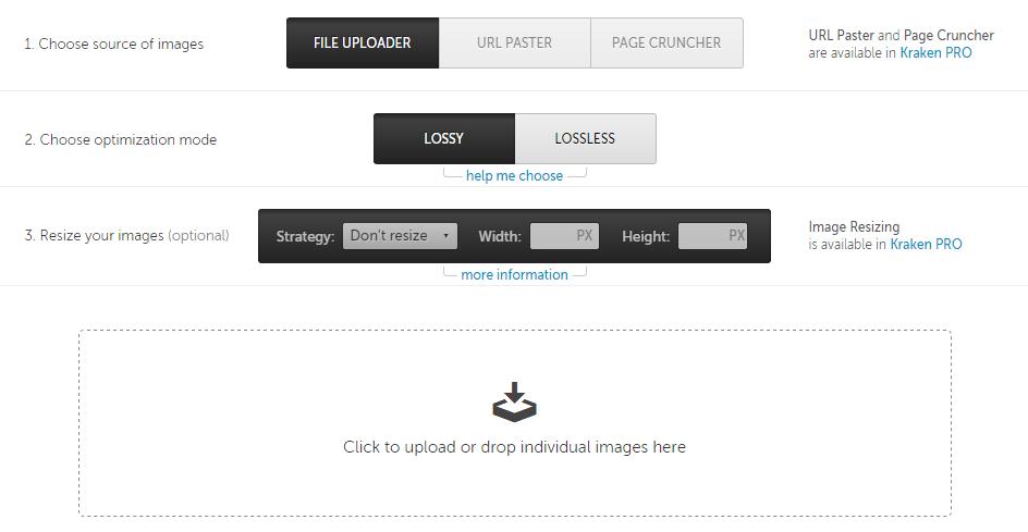 kraken-webinterface