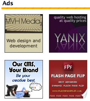 Chèn quảng cáo 125x125 vào WordPress